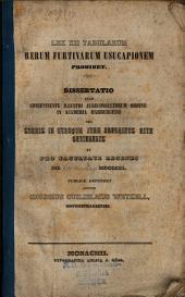 Lex XII. Tabularum rerum furtivarum usucapionem prohibet: diss. inaug