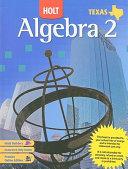 Texas Holt Algebra 2 PDF