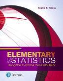 Elementary Statistics Using the TI 83 84 Plus Calculator PDF