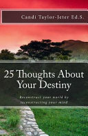25 Thoughts About Your Destiny Book
