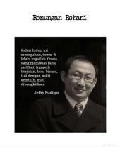 Renungan Rohani: Renungan Rohani Pdt. Jeffry Sudirgo