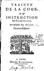 Traicté de la Court. Signed: D. R., i.e. Eustache du Refuge