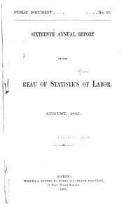 Annual Report on the Statistics of Labor PDF