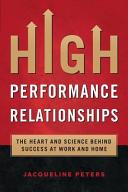High Performance Relationships PDF