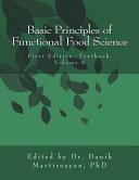 Basic Principles of Functional Food Science PDF
