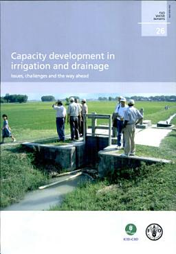 Capacity Development in Irrigation and Drainage PDF
