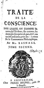 Traité de la conscience, dans lequel on examine sa nature, ses illusions, ses craintes, ses dontes, etc: Volume2