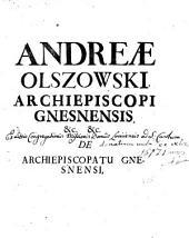 De archiepiskopatu Gnesnensi