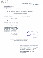 California. Court of Appeal (2nd Appellate District). Records and Briefs: 2CIV62615, Other