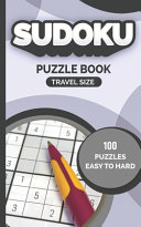Sudoku Puzzle Book Travel Size 100 PUZZLES EASY TO HARD