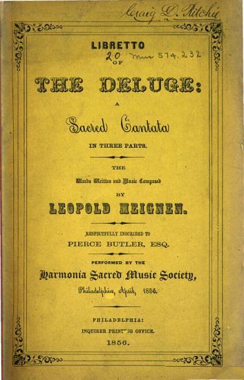 Libretto of The Deluge PDF