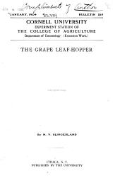 Grape Leaf Hopper
