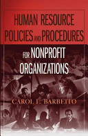 Human Resource Policies and Procedures for Nonprofit Organizations PDF
