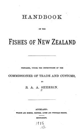 Handbook of the Fishes of New Zealand PDF