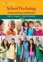 School Psychology PDF