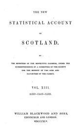 The New Staistical Account of Scotland: pt.1-2 Banff, Elgin, Nairn