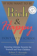 Download If You Want to be Rich   Happy  Don t Go to School  Book