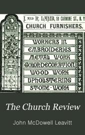 The Church Review: Volume 35