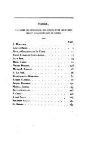 Le peintre-graveur français: ou Catalogue raisonné des estampes gravées par les peintres et les dessinateurs de l'école française. Ouvrage faisant suite au Peintre-graveur de M. Bartsch, Volume3