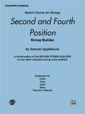 2nd and 4th Position String Builder - Teacher's Manual