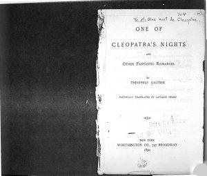 One of Cleopatra s Nights PDF