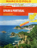 Spain and Portugal Marco Polo Atlas