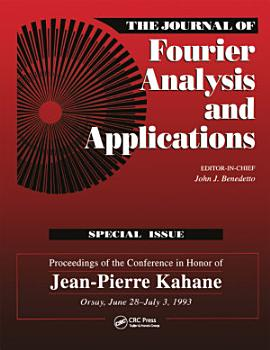 Journal of Fourier Analysis and Applications Special Issue PDF