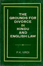 The Grounds for Divorce in Hindu and English Law PDF
