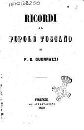 Ricordi al popolo toscano