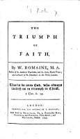 The Triumph of Faith PDF