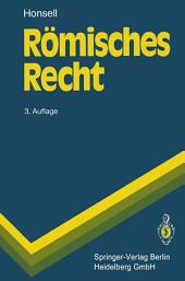 Römisches Recht: Ausgabe 3