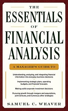 The Essentials of Financial Analysis PDF