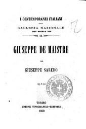 Giuseppe De Maistre galleria nazionale del secolo 19 per Giuseppe Saredo