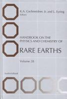 Handbook on the Physics and Chemistry of Rare Earths PDF