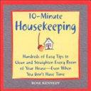10-Minute Housekeeping