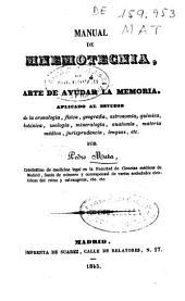 Manual de mnemotecnia, ó arte de ayudar la memoria, aplicado al estudio ...