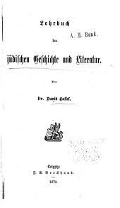Lehrbuch der jüdischen Geschichte und Literatur