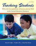 Teaching Students Who Are Exceptional  Diverse  and at Risk in the General Education Classroom   Enhanced Pearson Etext With Video Analysis Tool Access Card
