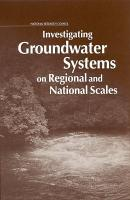 Investigating Groundwater Systems on Regional and National Scales PDF