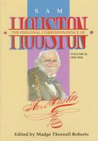 The Personal Correspondence of Sam Houston  1846 1848 PDF