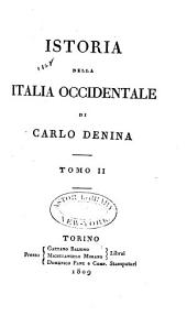 Istoria della Italia occidentale: Volume 2