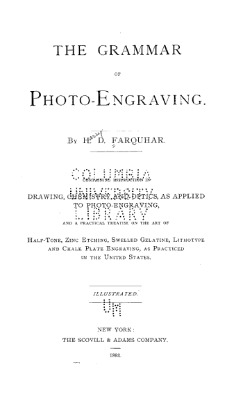 The Grammar of Photo engraving PDF