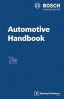 Bosch Automotive Handbook PDF