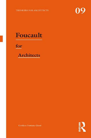 Foucault for Architects