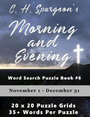 C H  Spurgeon s Morning and Evening Word Search Puzzle Book  6 Book
