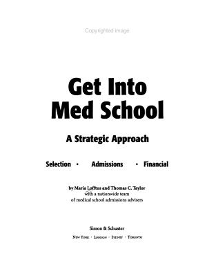 Get Into Med School PDF