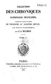 Chroniques de Froissart: Volume6