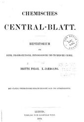 Chemisches Zentralblatt: Band 50