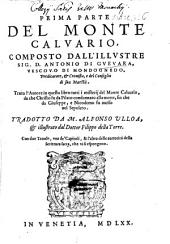 ... Parte Del Monte Calvario: Prima Parte ...
