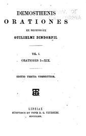 Demosthenes Orationes: Orationes I-XIX